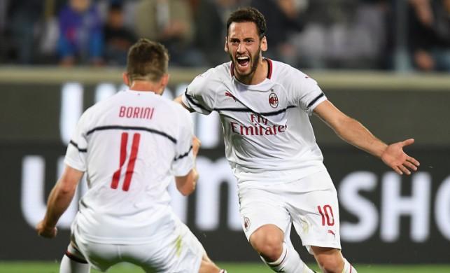 Hakan Çalhanoğlu attı, Milan kazandı!