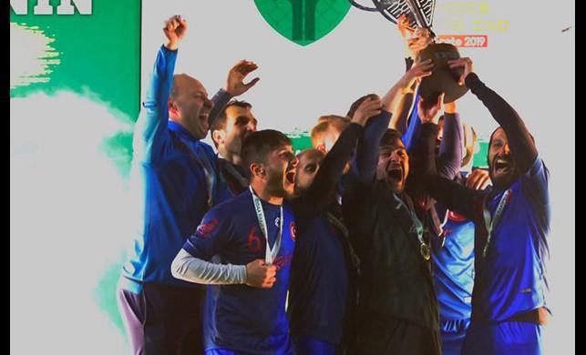 Türkiye'nin en iyi halı saha takımı İstanbul'dan Akademik Futbol oldu
