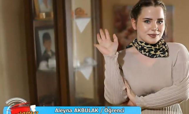 Yemekteyiz Aleyna Akbulak kimdir?