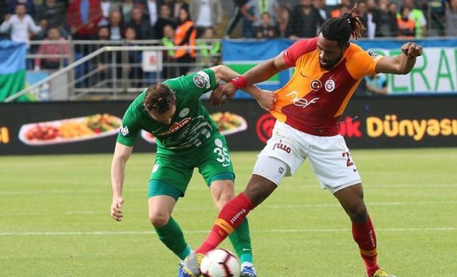 Çaykur Rizespor, Galatasaray maçı için TFF'ye başvurdu