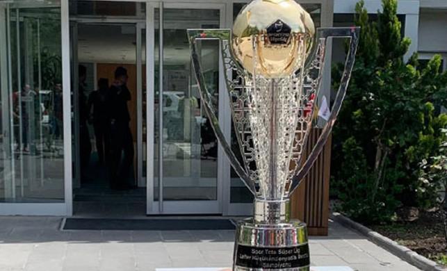 Süper Lig şampiyonluk kupasının tanıtımı yapıldı