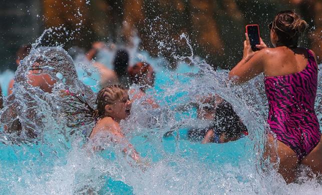 Tatilciler havuzlardaki tehlikeye dikkat