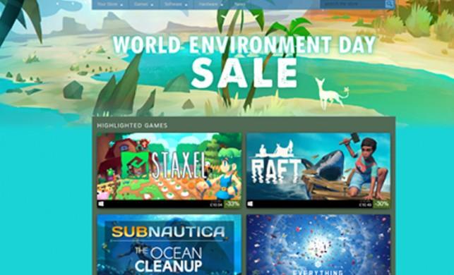 Steam dünya çevre günü indirimleri