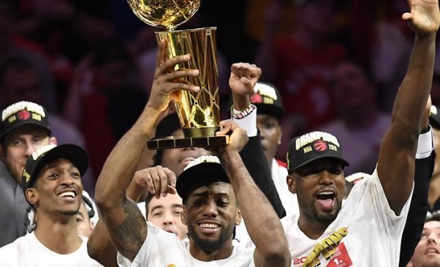 Toronto Raptors tarihinde ilk kez NBA şampiyonu oldu
