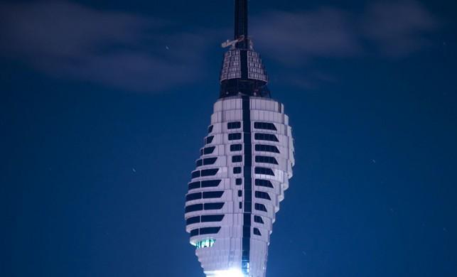 Küçük Çamlıca Televizyon kulesi inşaatında sona yaklaşıldı