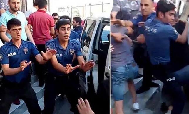 Kartal'da mahallelinin yakaladığı tacizciyi polis linçten kurtardı