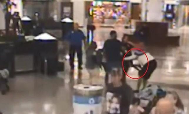 Havalimanında şoke eden olay! Ailesinin yanından çocuklarını kaçırmaya çalıştı