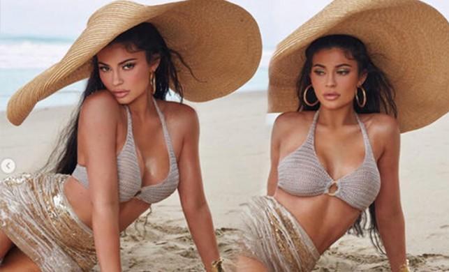 Kylie Jenner'ın bol filtreli hali