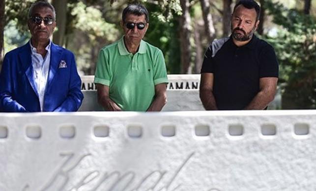 Usta oyuncu Kemal Sunal vefatının 19'uncu yılında kabri başında anıldı