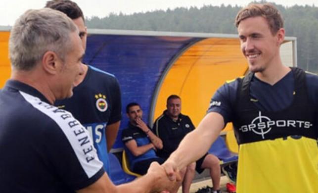 Yeni transfer Kruse ilk idmanına katıldı!