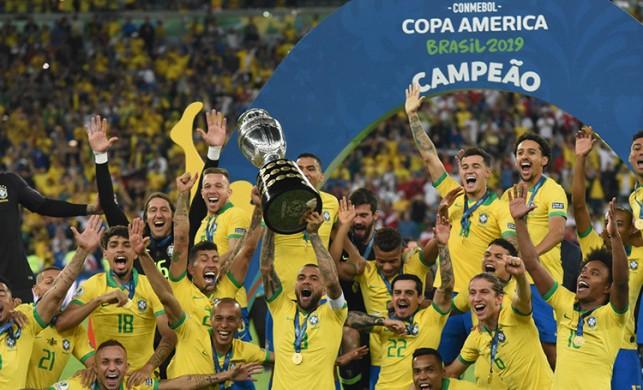 Brezilya, Copa America'da mutlu sona ulaştı!