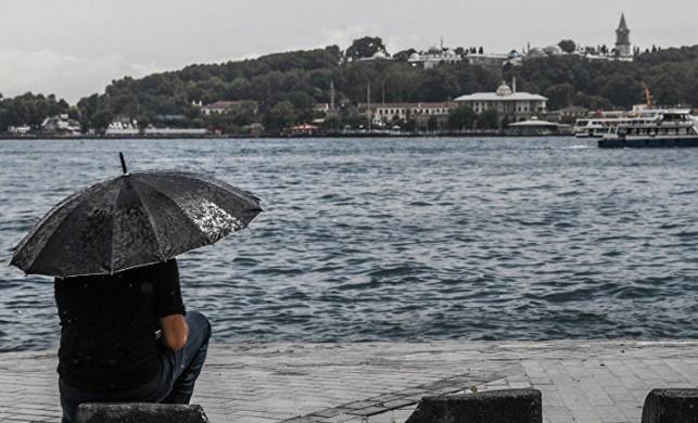 İstanbul'da gök gürültülü sağanak yağış bekleniyor