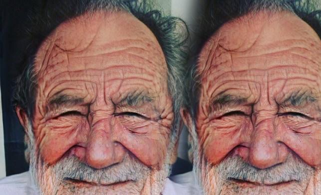 Ferhat Göçer Faceapp ile kendini yaşlandırdı