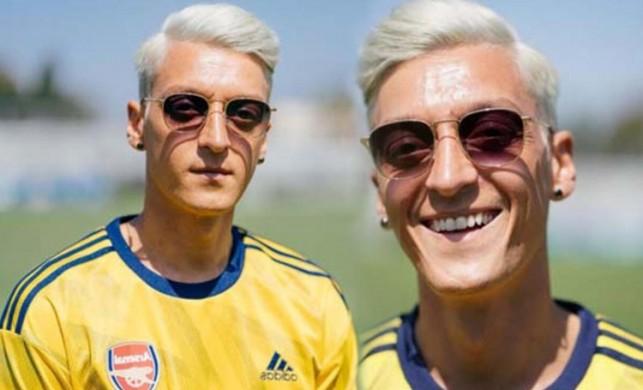 Mesut Özil yeni imajıyla herkesi şaşırttı!
