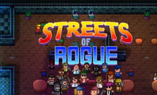 8Bit Vahşeti: Streets of Rogue