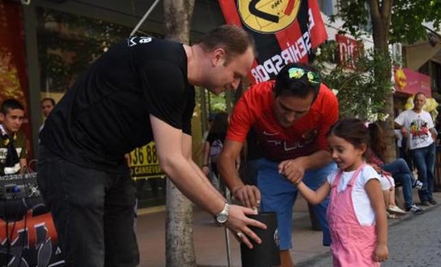 Eskişehirspor'dan '26 saat, 1 şehir' kampanyası
