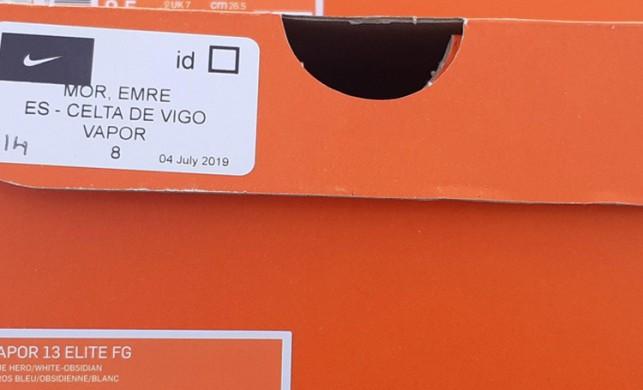 Emre Mor'un krampon kutuları çöpe atıldı