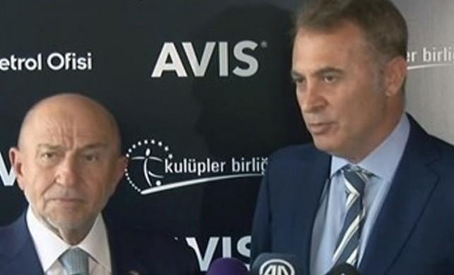 TFF Başkanı Nihat Özdemir: Liglerin ertelenmesi söz konusu değil