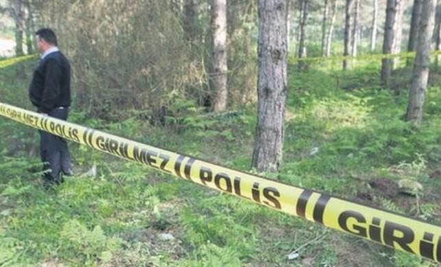 Eyüpsultan'da korkunç cinayet! Gasp edip, öldürüp, ormana attılar!