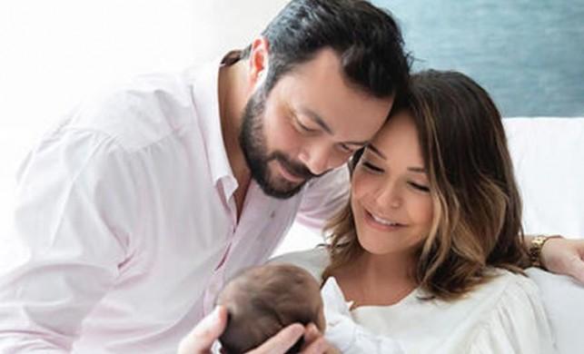 İşte Bengü ve Selim Selimoğlu'nun bebeği Zeynep...