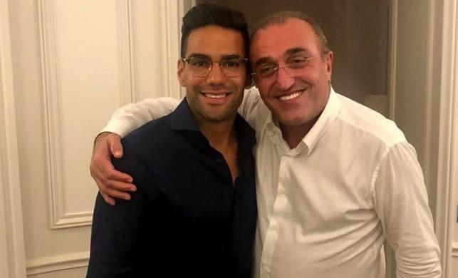 Sosyal medyayı salladı: Falcao ile Abdurrahim Albayrak aynı karede!