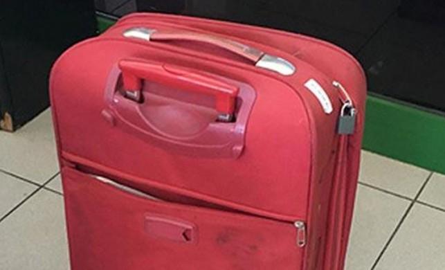 Valizin içinden çıktı! Şoke olacaksınız