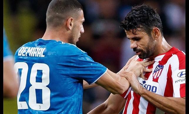 Merih Demiral'la Diego Costa arasında gerginlik!