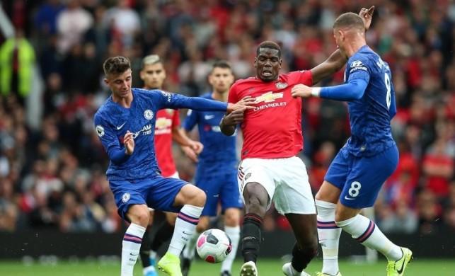 Premier Lig'de ilk hafta derbisi! Man Utd ezdi...