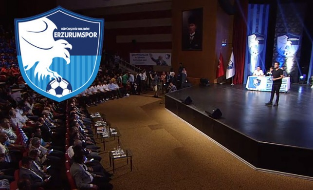 Erzurumspor'a destek yağdı