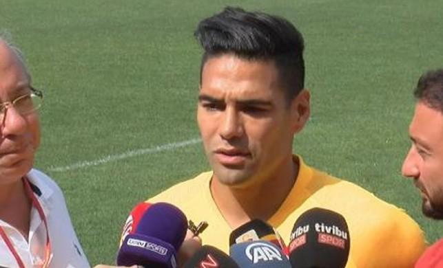 Radamel Falcao, Galatasaray'ı tercih etme nedenini açıkladı!
