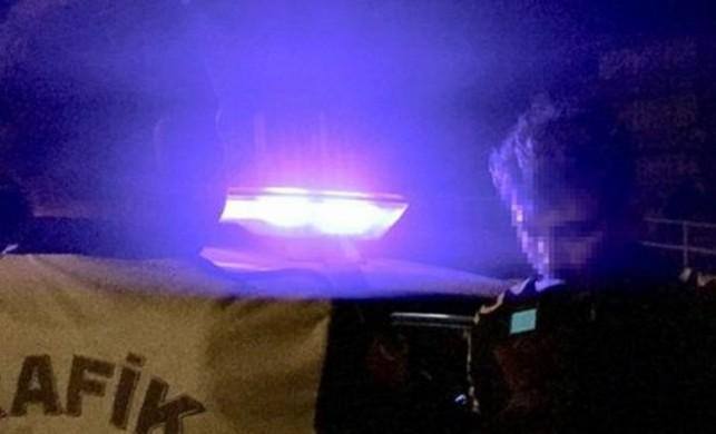 Alkollü yakalanan sürücüden şaşırtan hareket