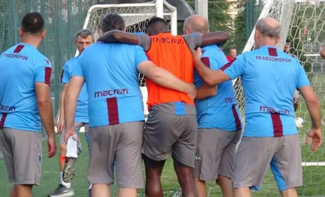 Trabzonspor'a bir şok daha! Caleb Ekuban'dan kötü haber...