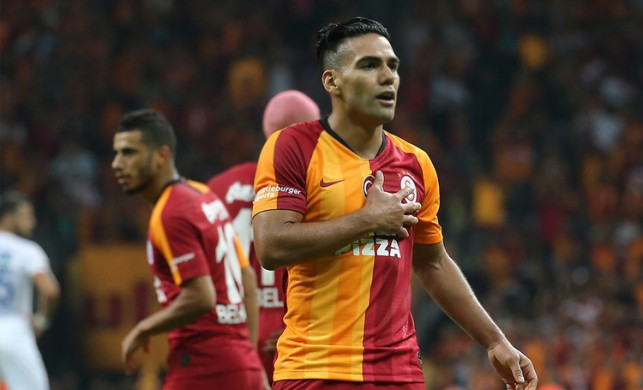 Falcao ilk maçında ilk golünü attı... Galatasaray 3 puanın sahibi oldu
