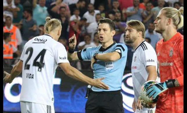 Domagoj Vida'dan kırmızı kart açıklaması