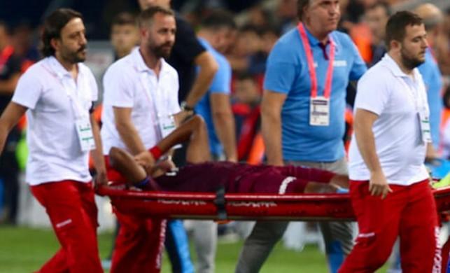 Trabzonspor'a bir sakatlık şoku daha!