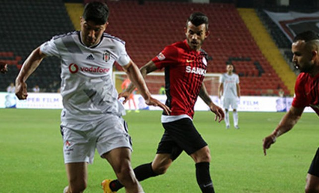 Beşiktaş'tan Gazişehir maçına itiraz