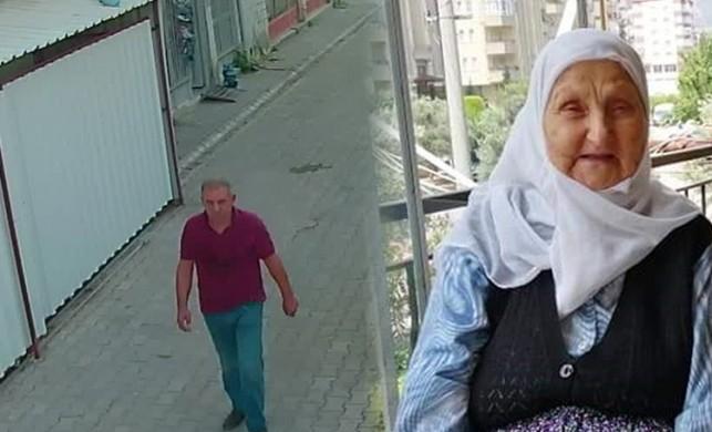 92 yaşındaki kadın gaspa uğradı!