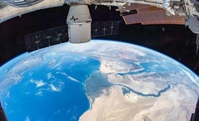 NASA paylaştı: İşte Türkiye'nin uzaydan görüntüsü