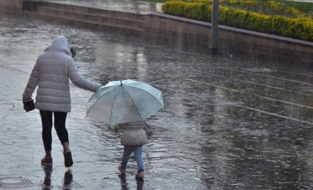 Dikkat! Meteoroloji'den yağış uyarısı...