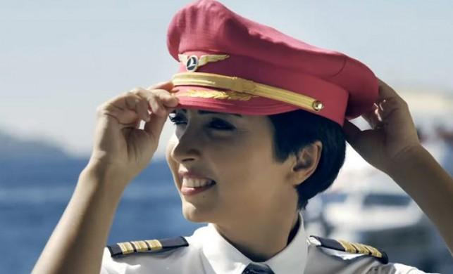 THY pilotu Bilge Derin, kanseri yendi, göklere yeniden döndü!