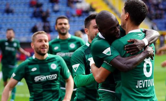 Ligde zirvenin yeni ortağı Konyaspor!