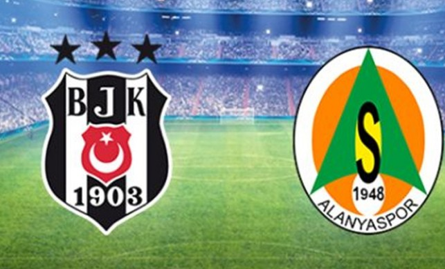İşte Beşiktaş-Alanyaspor maçının 11'leri