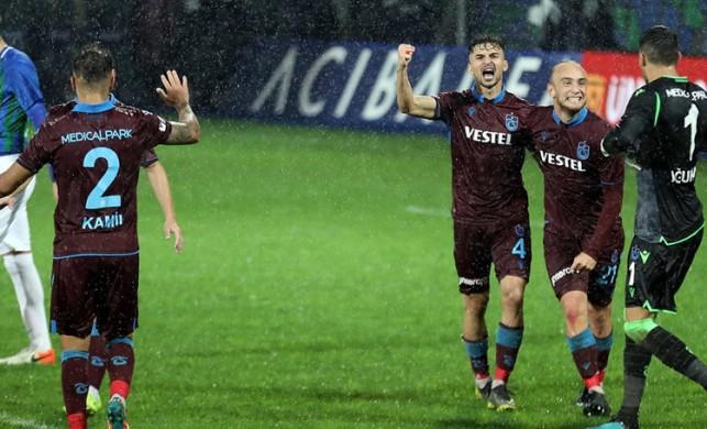 Trabzonspor geriden gelerek 3 puanın sahibi oldu!