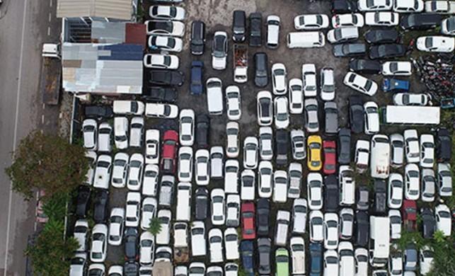 Yer Kocaeli... '500 milyon TL değerinde araç atıl durumda'