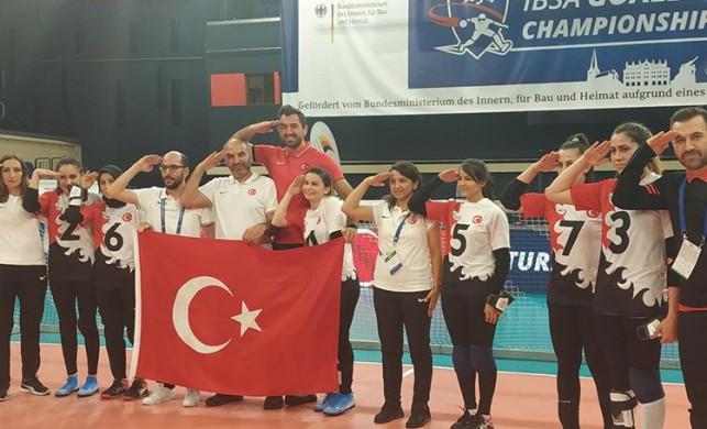 Golbol Kadın Milli Takımı Avrupa Şampiyonu oldu