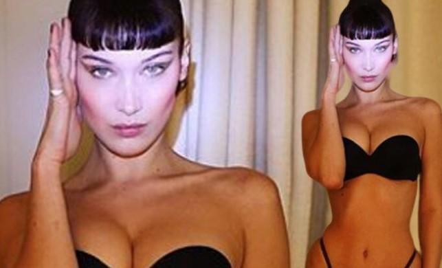 Altın Oran'a göre dünyanın en güzel kadını Bella Hadid