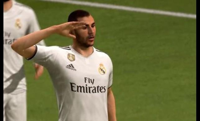 FIFA'nın lisanslı oyununda asker selamı! UEFA buna ne diyecek?