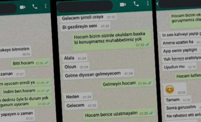 Whatsapp konuşmaları görenleri şoke etmişti! Üniversitedeki taciz skandalında flaş gelişme