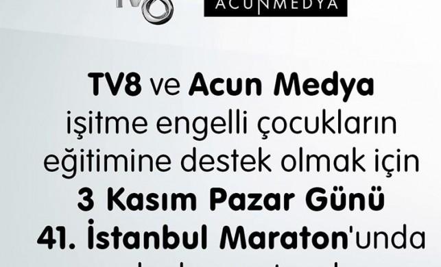 TV8 ve Acun Medya'dan tam destek!