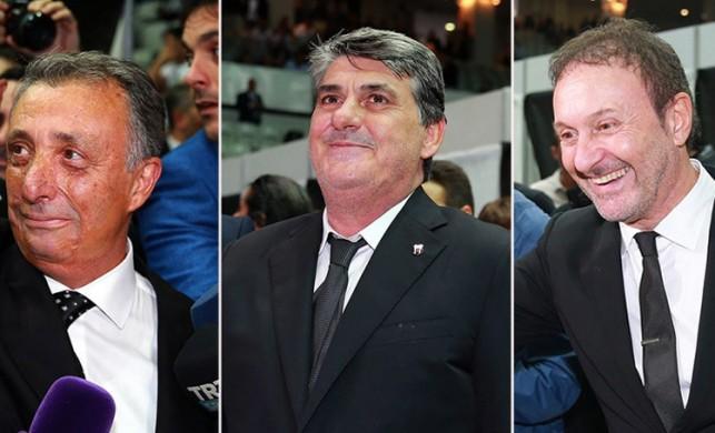 Beşiktaş'ın yeni başkanı belli oldu!
